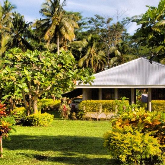 A Samoan home