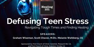 Defusing Teen Stress Title Slides Title