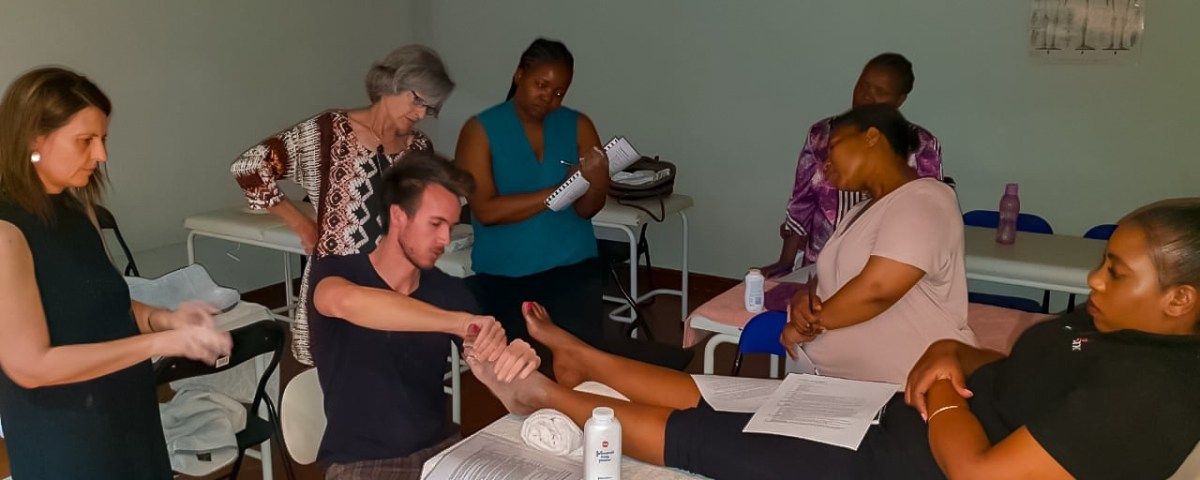 Complementary Training done at Healing Hands Wellness Institute