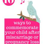 10 ways commemorate birdsong