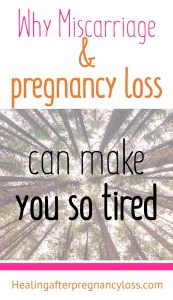 Finally I know why I am so tired! #miscarriage #pregnancyloss #stillbirth #ectopicpregnancy