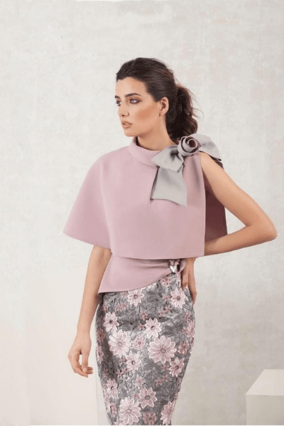 Pink and Grey Dress - Winter Outfits For Girls