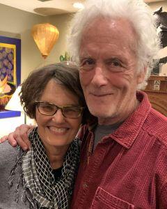 Diana Lindsay and Michael Lerner