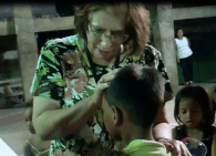 Ministering Healing in Taclobin, Philippines