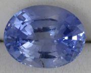 BS001 Blue Sapphire - Oval Vedic Healing Gemstone