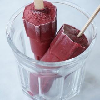 Blackberry Basil Popsicles {AIP, GAPS, SCD, Paleo}