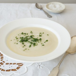 Celeriac and Pear Soup {AIP, GAPS, SCD, Paleo}