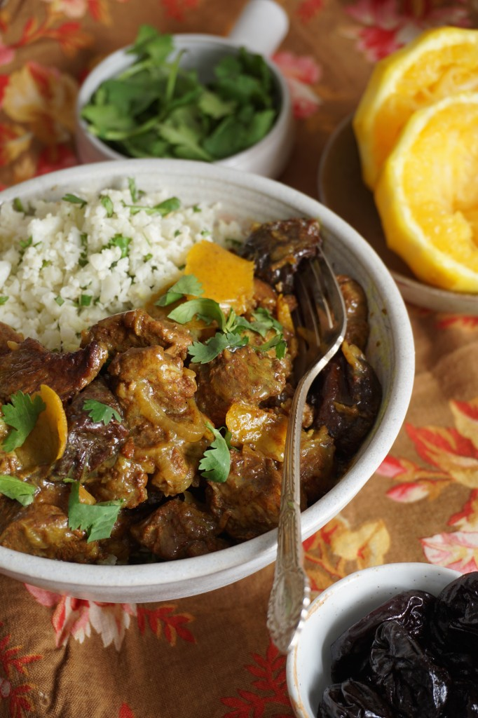 Lamb Tagine with Orange and Prunes = Healing Family Eats