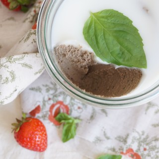 Beef Liver Pate with Strawberries, Basil and Balsamic {AIP, GAPS, SCD, Paleo}