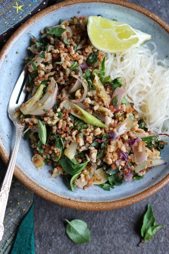 thai salad port