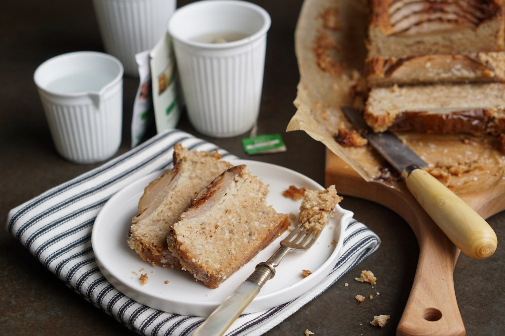 Pear and Parsnip Teacake {HFE}