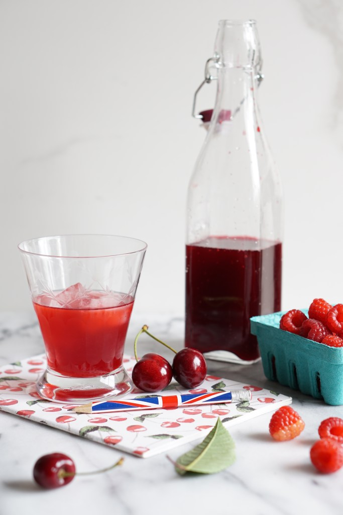 cherry and raspberry cordial [HFE]