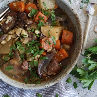 Hearty Irish Lamb Stew {AIP, GAPS, SCD, Paleo}
