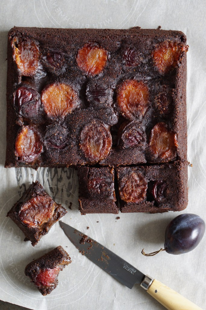 Carob Plum Cake {AIP} by Healing Family Eats