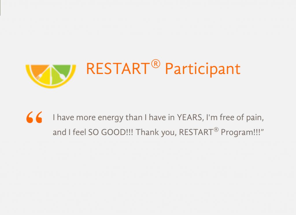 Healing Family Eats RESTART Program