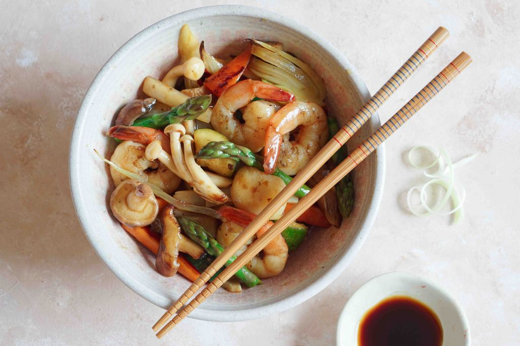 AIP Shrimp Stir Fry
