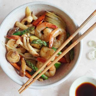 Shrimp Stir Fry landscape