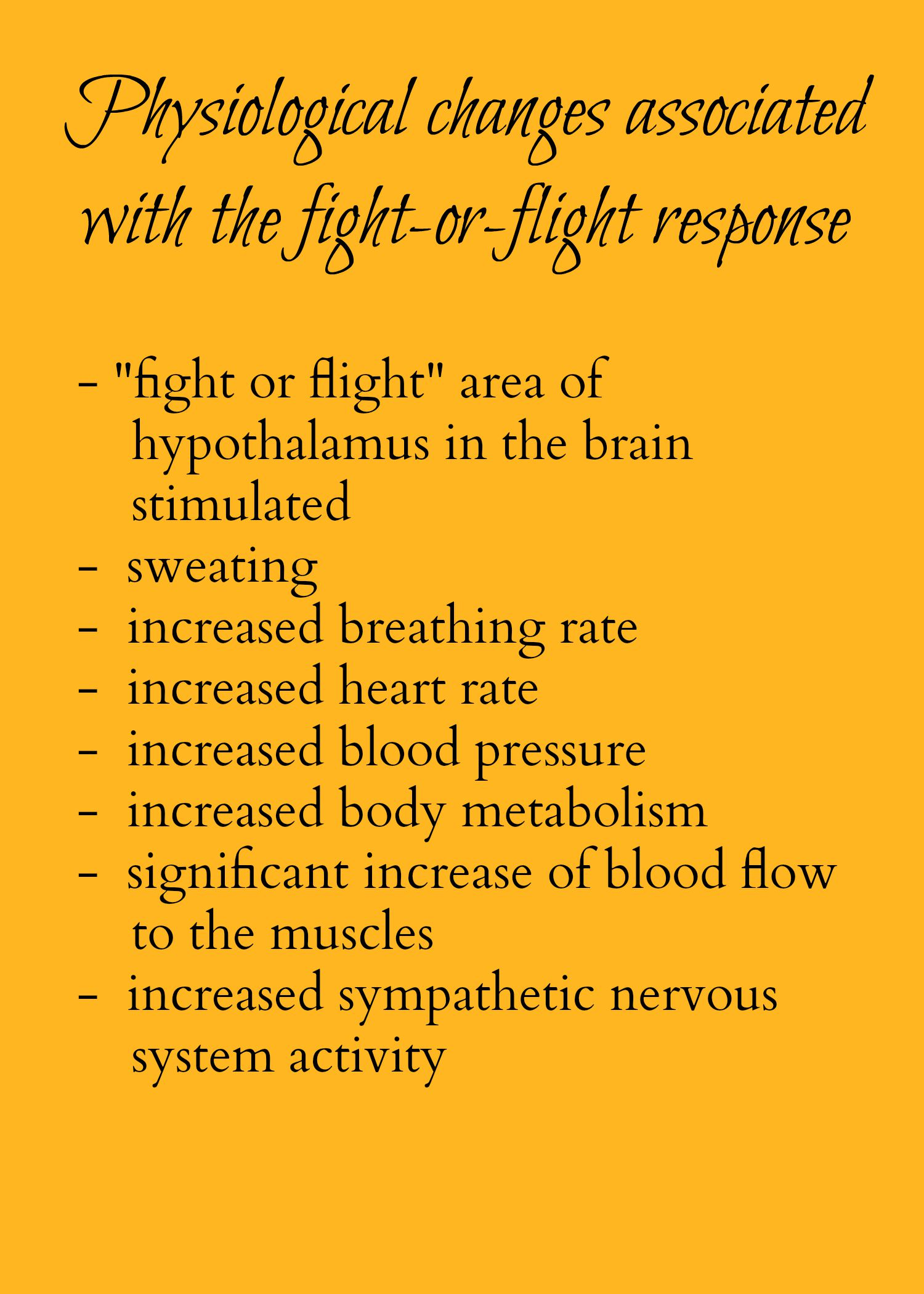 The Fight Or Flight Response What S Really Going On