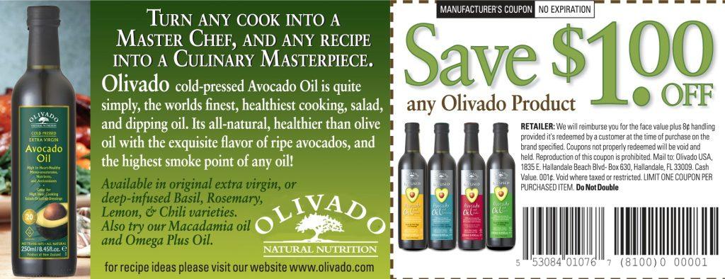 Olivado Avocado Oil coupon