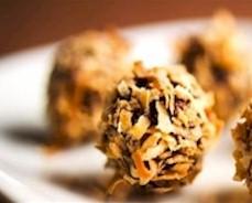 healthy homemade chocolate truffle