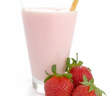 """Super """"C"""" Strawberry Smoothie (Dairy Free)"""
