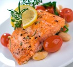Pan Roasted Wild Salmon with Olives (Dairy Free)