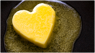 butter is good for the heart