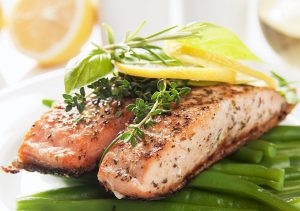 wild salmon healthy fat for diabetes
