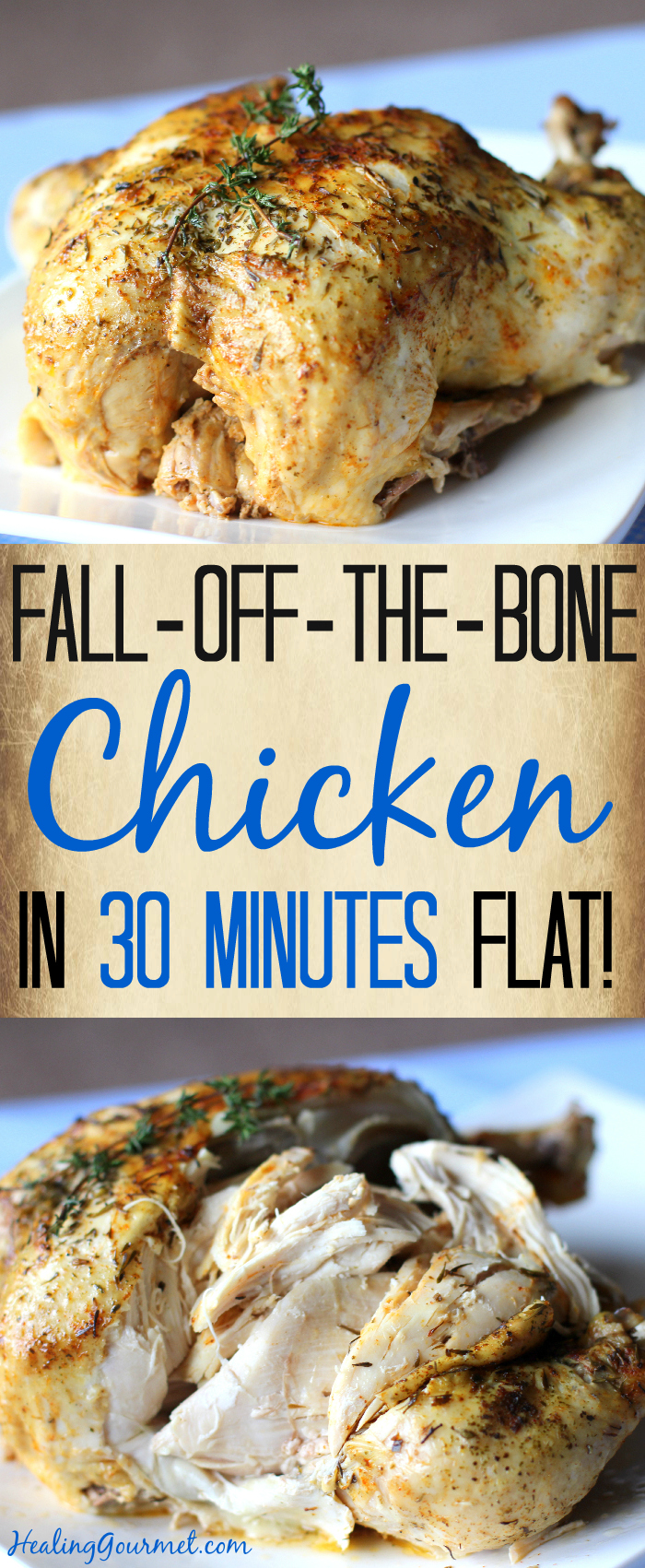 Fall Off The Bone Pressure Cooker Chicken In 30 Minutes Parts Diagram For Gourmet Single Handle Kitchen Faucet 150 450 Healing