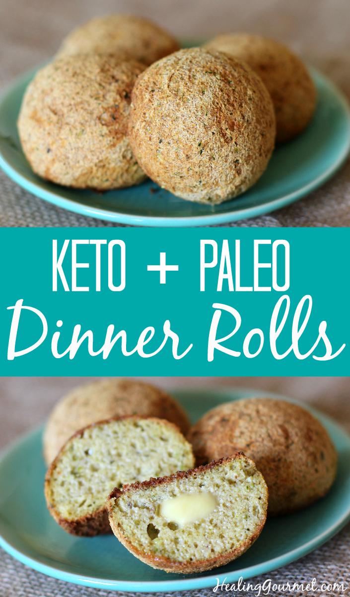 Paleo Dinner Rolls - Healing Gourmet