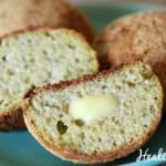 Keto Paleo Dinner Rolls with Zucchini - Healing Gourmet