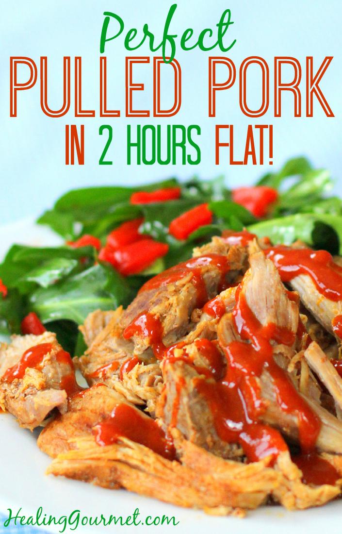 Pressure Cooker Pulled Pork - Healing Gourmet