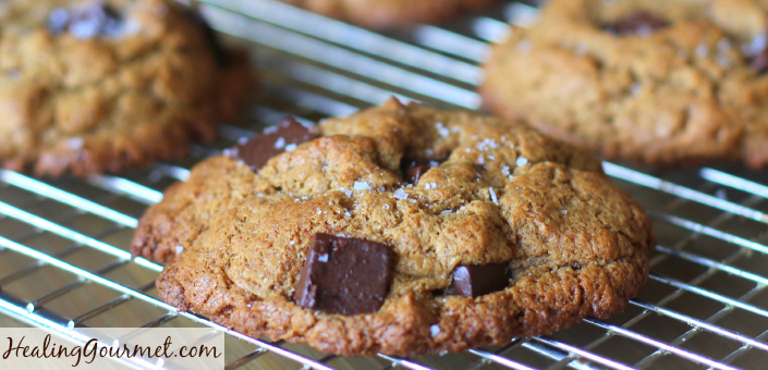 Paleo Chocolate Chip Cookies - Healing Gourmet