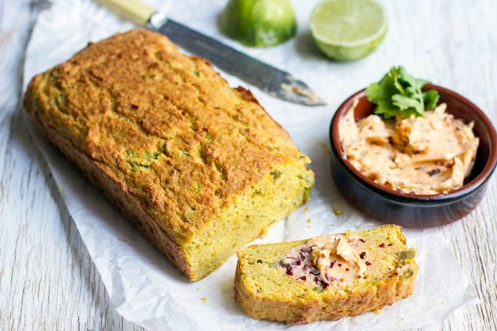 A Paleo bread recipe for spicy, corn bread!