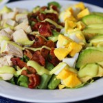 Easy Keto Paleo Cobb Salad Recipe