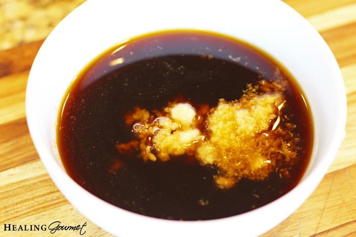 Teriyaki meatball sauce
