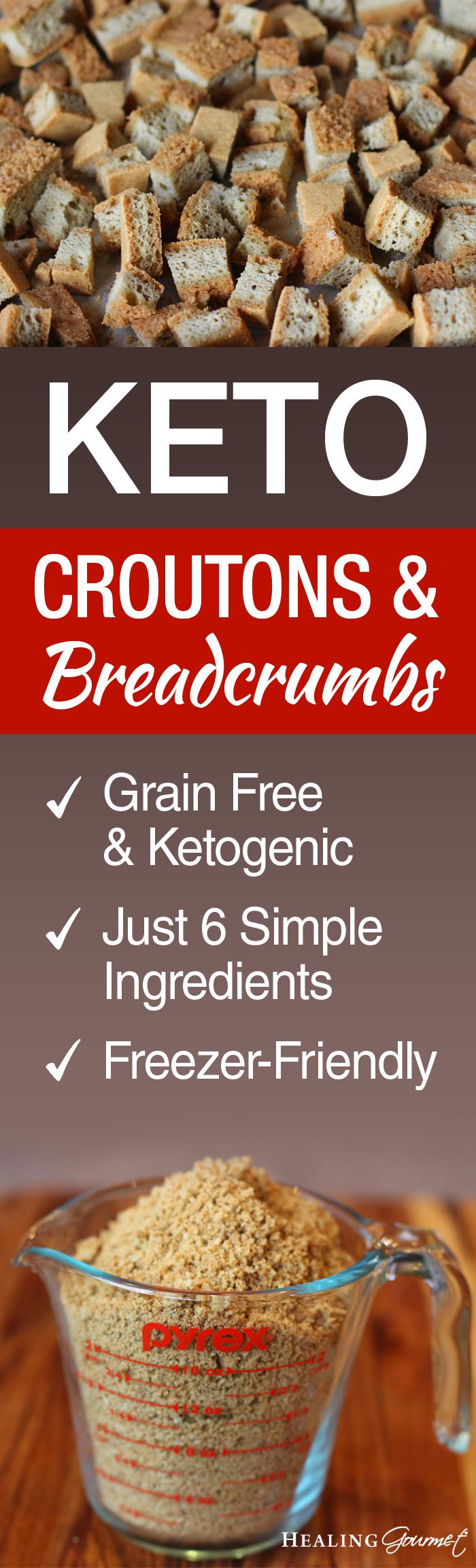 Keto Croutons & Breadcrumbs