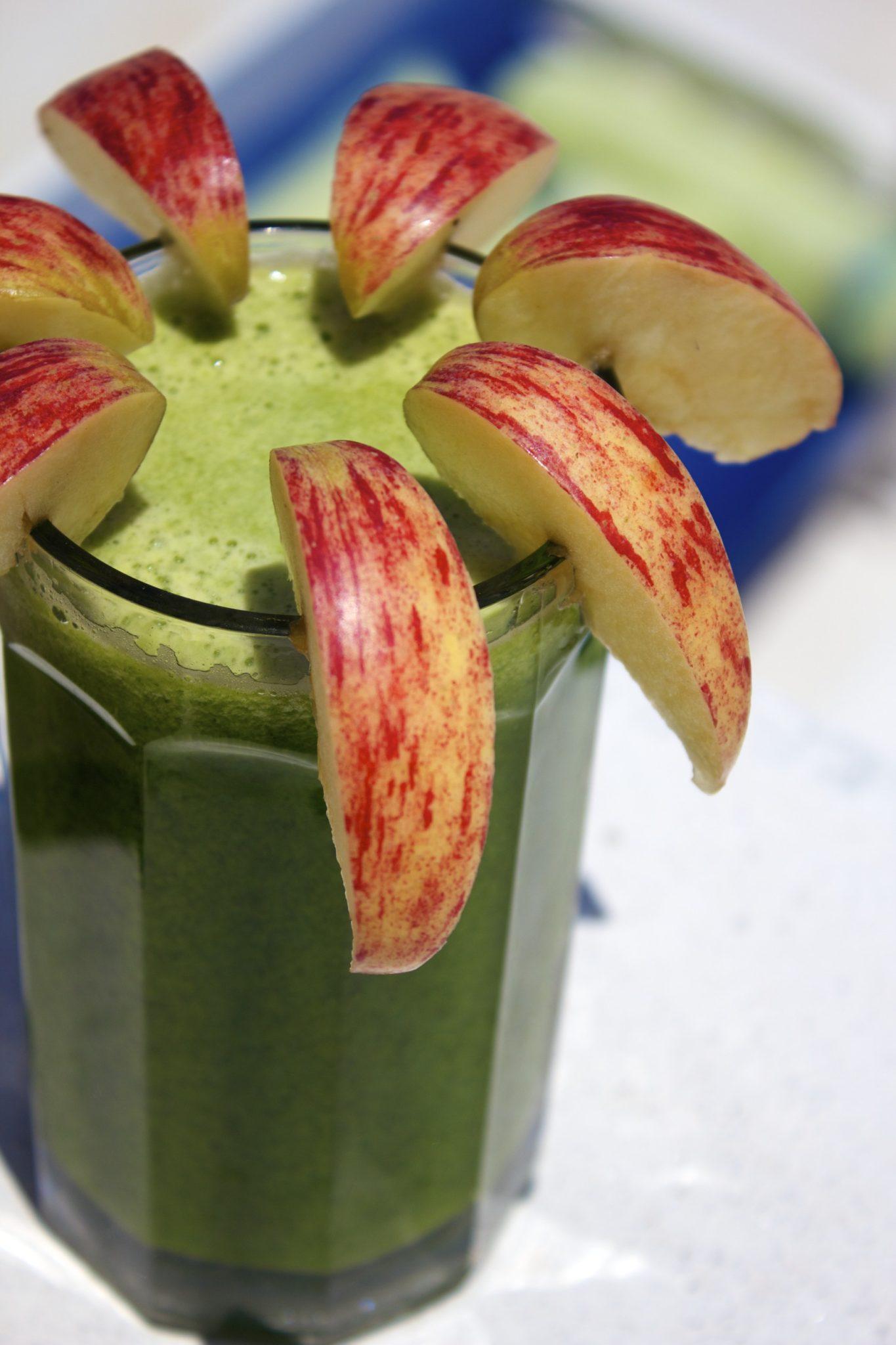 Green Goddess Antihistamine & Anti-inflammatory Juice