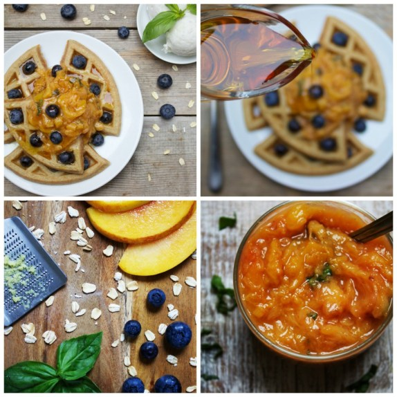 low histamine high nutrient waffles collage