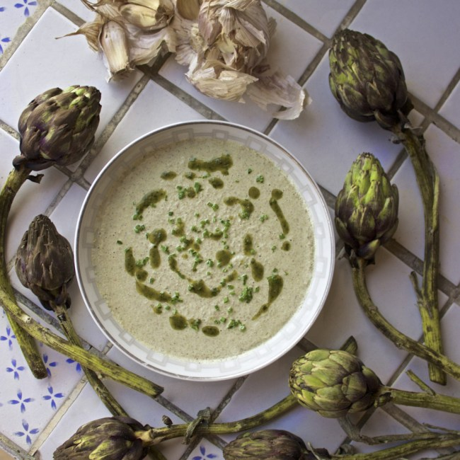 antihistamine artichoke soup