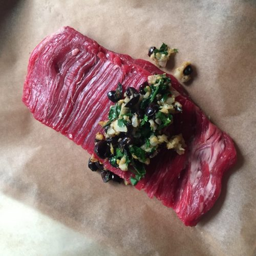 beef on parchment