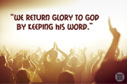 return glory to God - Shinchonji
