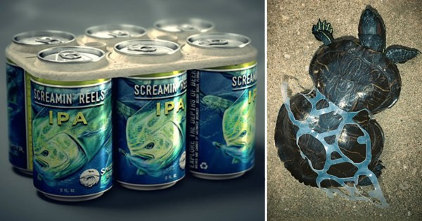 Beer Company Develops Edible Six-Pack Rings That Feed ...