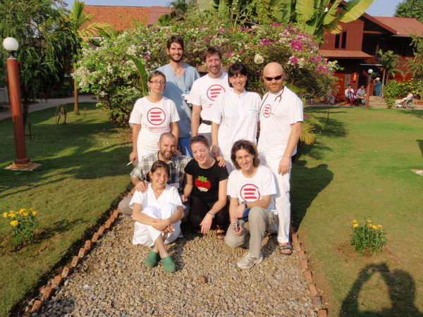 Battambang Emergency Staff - angels among them...