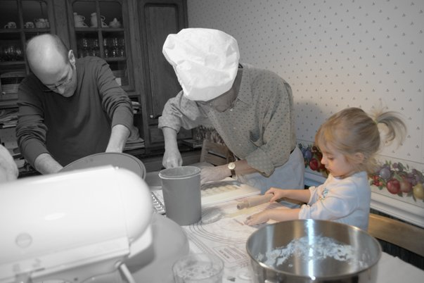 Favorite Things in November - 3 generations of agnolotti makers