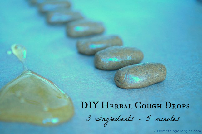 Top 10 Posts of 2013 - DIY Herbal Cough Drops: Sore Throat Remedy