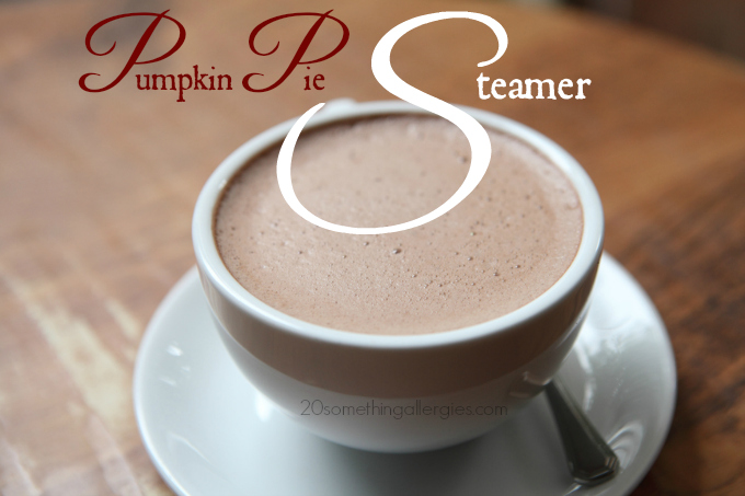 Pumpkin Pie Steamer: a Delicious Alternative to Hot Chocolate