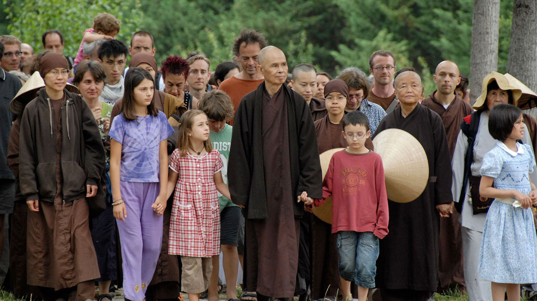 centre meditation pleine conscience - paris - thich nhat hanh - village des pruniers