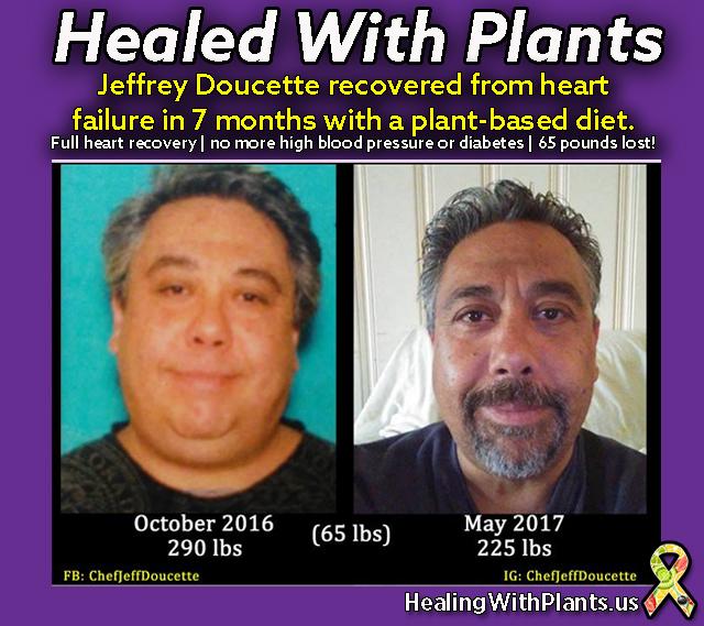 healing heart disease Jeffrey Doucette