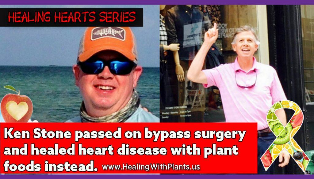 healing heart disease Ken Stone
